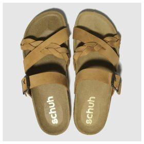 Schuh Tan Astrology Sandals