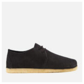 Clarks Originals Women's Ashton Nubuck Lace Up Shoes - Black