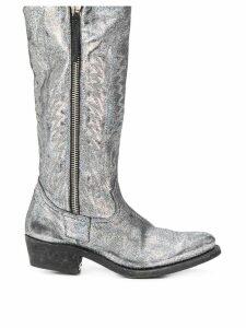 Golden Goose Golden Zip metallic boots