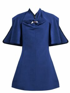 Ellery - Holly Of Hollies Cut-out Mini Dress - Womens - Navy