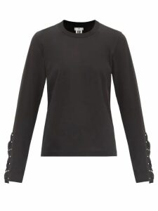 Holiday Boileau - Hardy Striped Stretch-cotton T-shirt - Womens - Red Multi