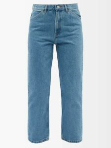 Holiday Boileau - Logo Intarsia Wool Sweater - Womens - Navy