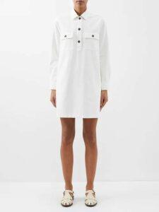 Rebecca Taylor - Floral-print Ruffled Silk-blend Blouse - Womens - Black Multi