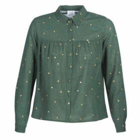 Vila  VILUNA  women's Shirt in Green