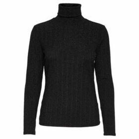 Jacqueline De Yong  JERSEY  JDYLURA L/S ROLL NECK  women's Sweater in Black
