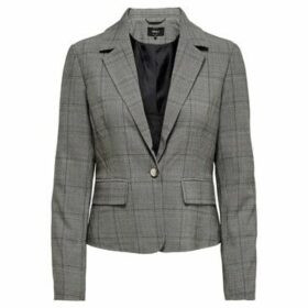Only  AMERICANA  onlMUST NICE FITTED  women's Jacket in Grey
