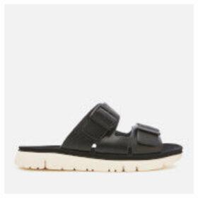 Camper Women's Oruga Double Strap Sandals - Black - UK 5 - Black
