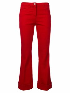 Nº21 bootcut trousers - Red