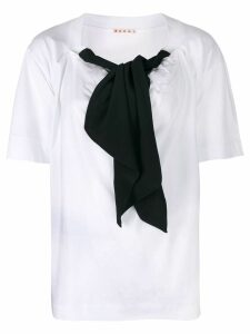 Marni bow detail blouse - White