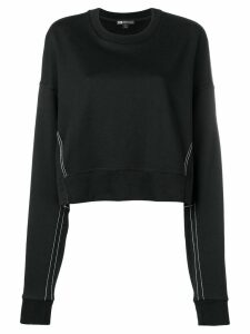 Y-3 oversized logo sweatshirt - Black