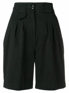 Etro high waist shorts - Black