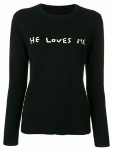 Chinti & Parker He Loves Me jumper - Black