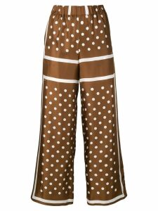 P.A.R.O.S.H. Suelo trousers - Brown