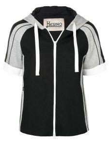Herno hooded jacket - Black