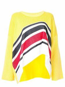 Aalto multicoloured sweater - Yellow