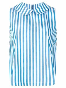 Société Anonyme striped sleeveless top - Blue
