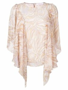 See by Chloé ruffled blouse - NEUTRALS