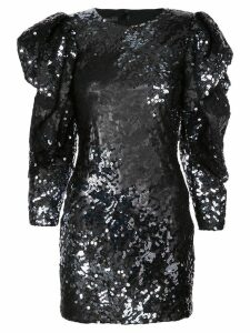 Rubin Singer sequin embellished mini dress - Black