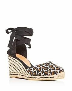 Castaner Women's Carina Ankle-Tie Platform Wedge Espadrille Sandals