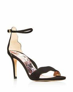 Marion Parke Women's Fiona Scalloped High-Heel Sandals