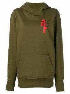 A.F.Vandevorst Always Forever hoodie - Green