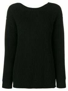 Chinti & Parker ribbed jumper - Black