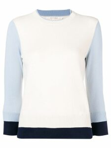 Chinti & Parker colour-block knitted sweater - NEUTRALS