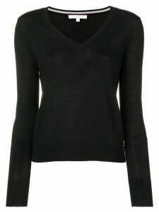 Patrizia Pepe v-neck jumper - Black