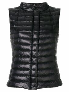 Herno slim-fit padded gilet - Black