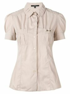 Gucci Pre-Owned button-down shirt - NEUTRALS