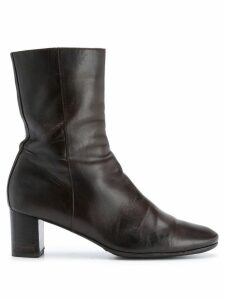 Hermès Pre-Owned 2000's mid-calf boots - Brown