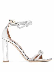 Malone Souliers Fenn 100 MM sandals - Silver