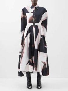 Adidas By Stella Mccartney - Hooded Cotton Blend Piqué Sweatshirt - Womens - Orange