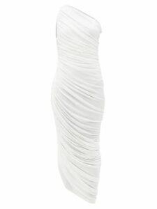 Pepper & Mayne - Wrap Cashmere And Wool Blend Cardigan - Womens - Dark Red
