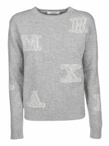 Max Mara Vetro Jacquard Sweater