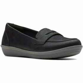 Clarks  Ayla Form Womens Shoes  women's Loafers / Casual Shoes in Black