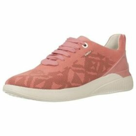 Geox  D THERAGON  women's Shoes (Trainers) in Pink