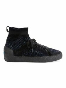 Ninja Kashmere Tweed Sock Sneakers