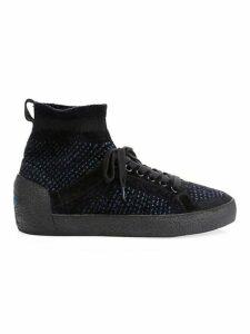 Ninja Kashmere Tweed Sock Sneakers