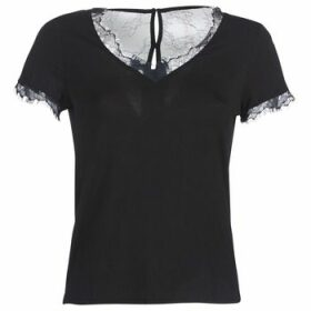 Morgan  DMINOL  women's T shirt in Black