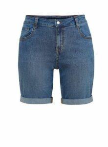 Midwash Denim Shorts, Denim