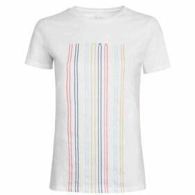Boss Blurred T Shirt