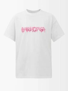 Harris Reed - Pussy-bow Metallic Blouse - Womens - Silver