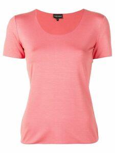 Emporio Armani round neck T-shirt - Pink