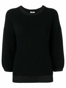 Peserico 3/4 sleeves jumper - Blue