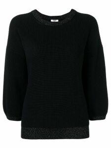 Peserico 3/4 sleeves jumper - Blue