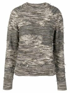 Rag & Bone army knit jumper - Green
