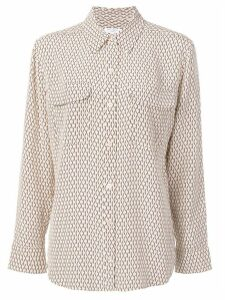 Equipment patterned shirt - NEUTRALS