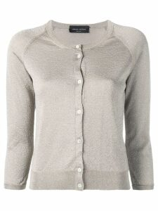 Roberto Collina round neck cardigan - Green