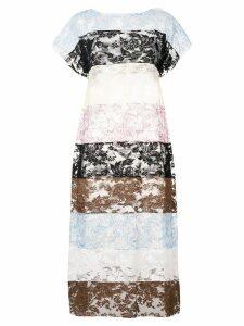 Ports 1961 sheer lace dress - Black